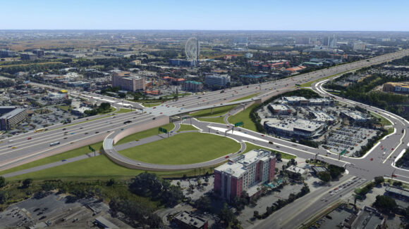 I-4 and Sand Lake Road rendering